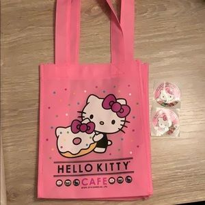 Hello Kitty Cafe tote bag